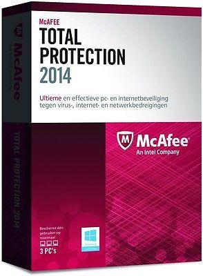 McAfee Total Protection 2015 (1 yr) (1pc) CD