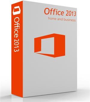 MS Office Home and Business 2013 (1user-1pc) Windows DVD (Word, Excel, PowerPoint, Outlook , OneNote)  (Qty-2+)